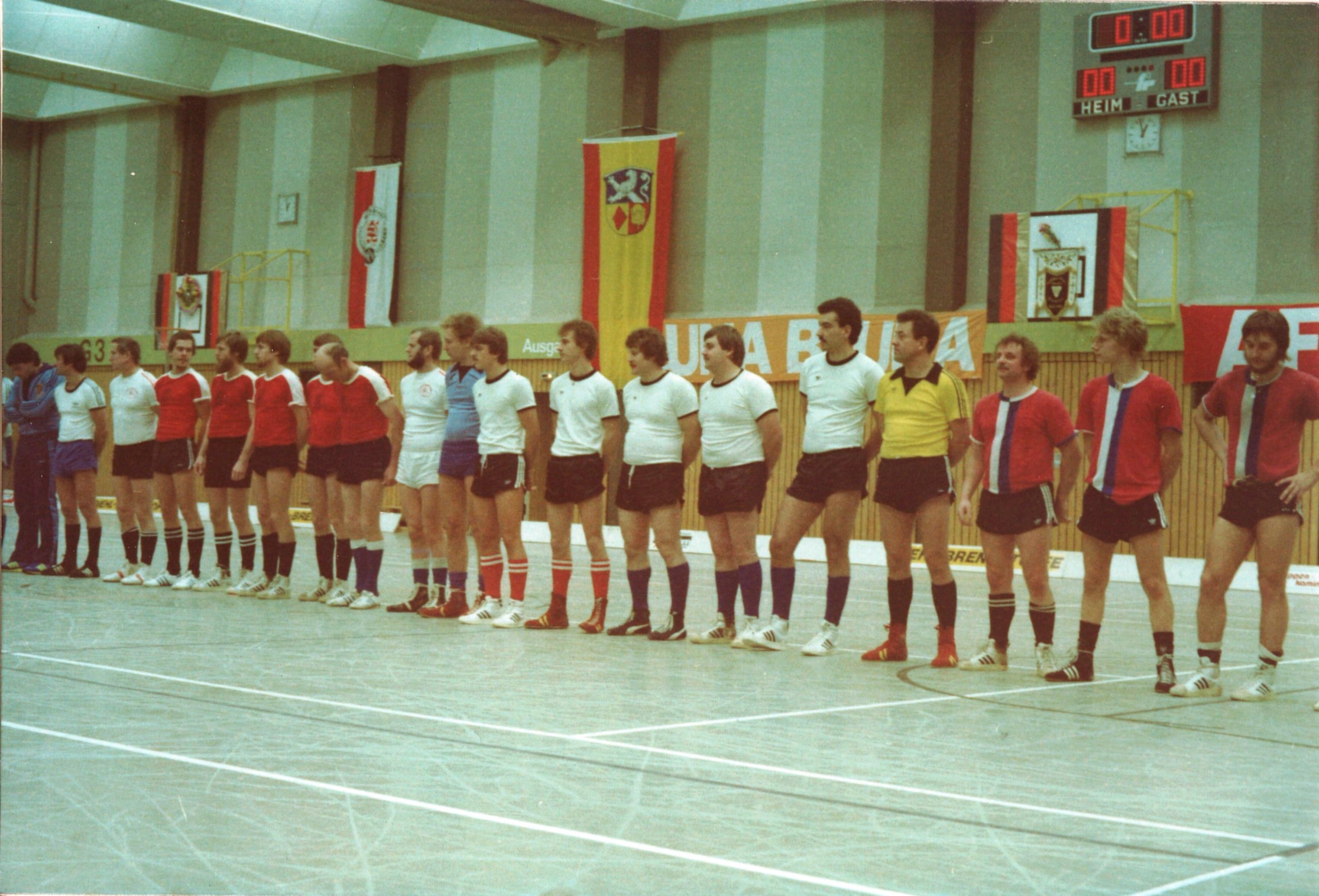 1980 - 5er DM in Asslar mit dem 4. Platz bei der ersten Teilnahme bei einer 5er DM5