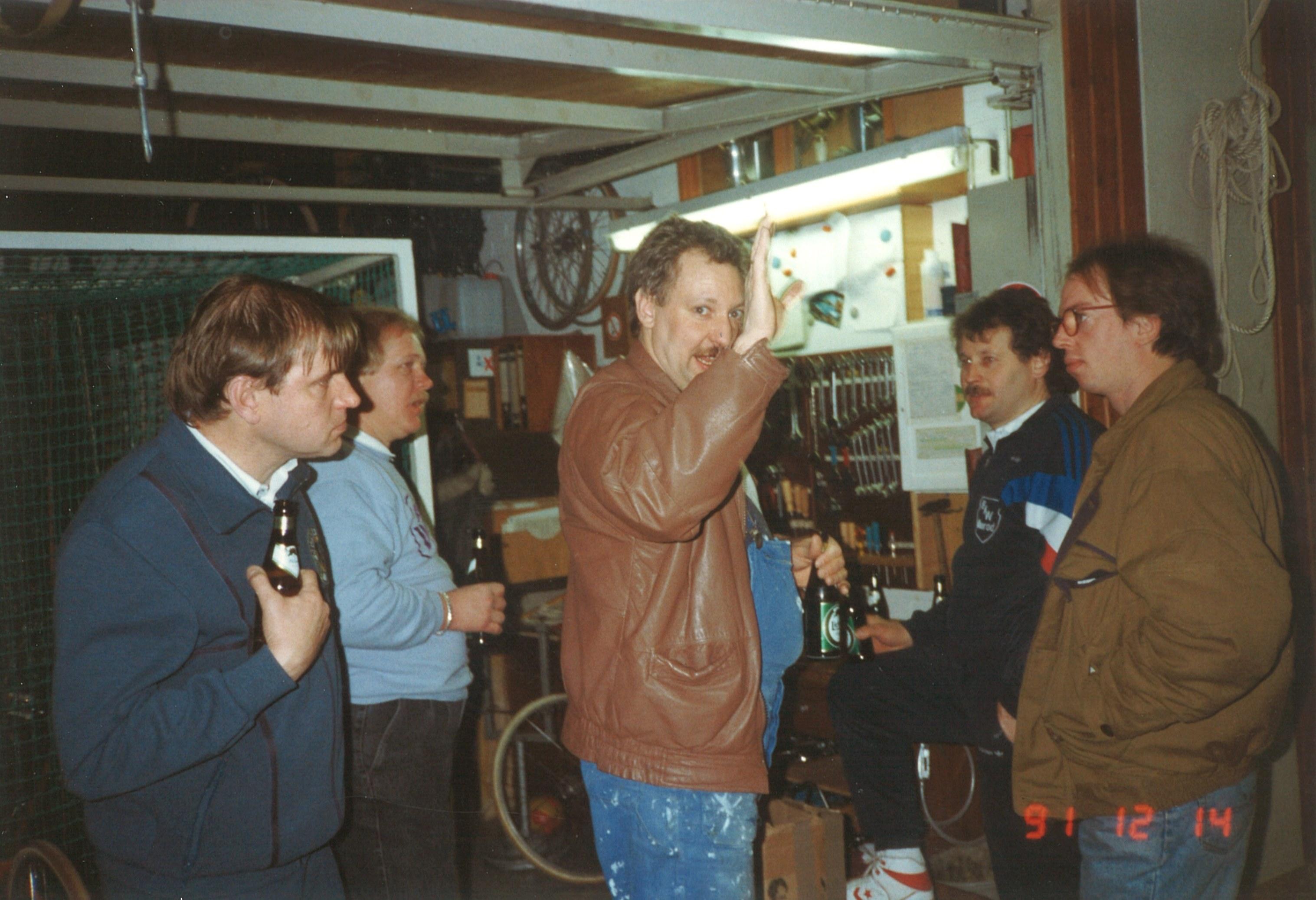 1991 Radball Bundespokal in Naurod - Fachgespräche