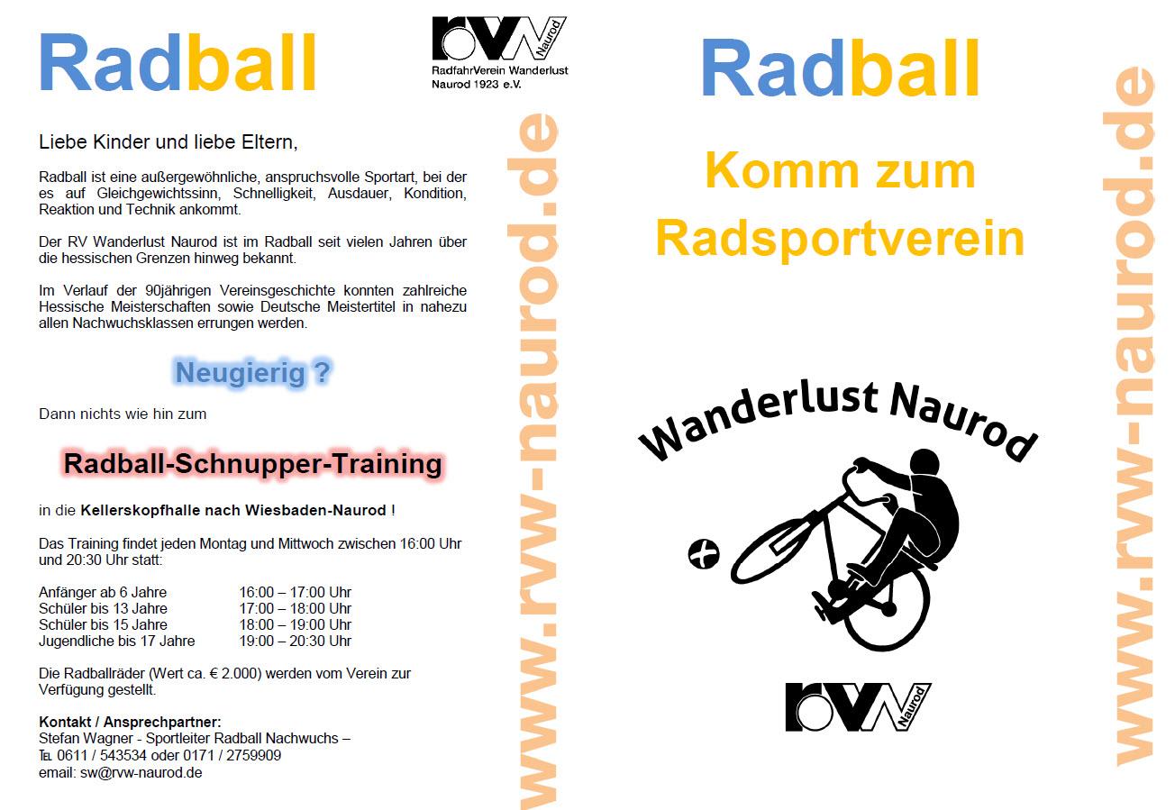 Flyer Radball