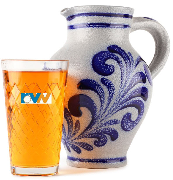 Ebbelwein - Glas und Bembel